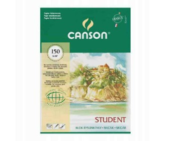Blok Rysunkowy STUDENT A5 Canson 150g