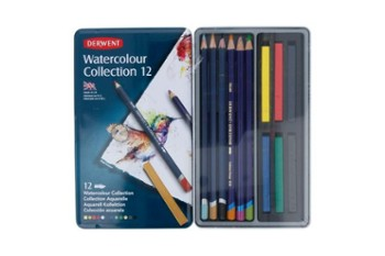 Kredki Watercolour Collection 12 DERWENT