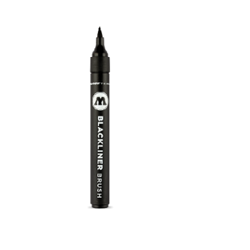 Marker Blackliner Brush