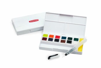 DERWENT INKTENSE PAINT PAN TRAVEL SET 2