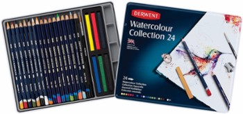 Kredki Watercolour Collection 24 DERWENT
