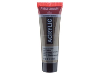 Amsterdam Acrylic Raw Umber 120ml