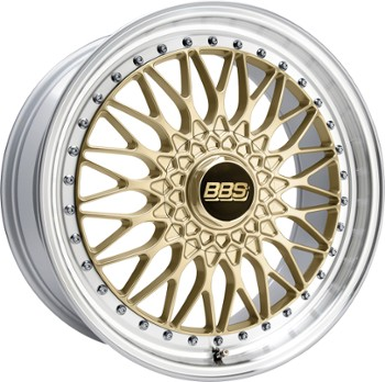 FELGA BBS Super RS ZŁOTY