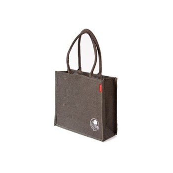 GREENBAG NATURAL Torba z juty, ciemna