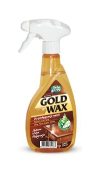 GOLD WAX 400ml preparat do mebli spray
