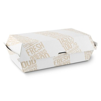 TAKEAWAY BOX 600ml biały #