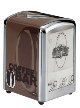 Dyspenser serwetek Coffee 10x9x13 N2
