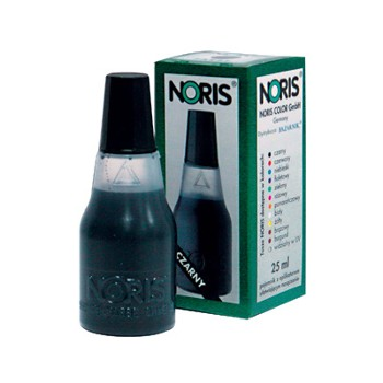 Tusz do stempli niebieski NORIS 25ml