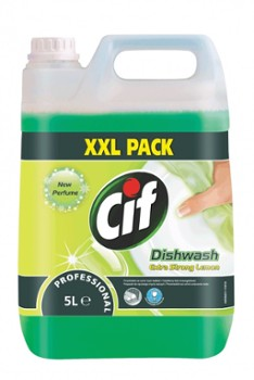 CIF Dishwash 5l Extra Strong lemon fresh