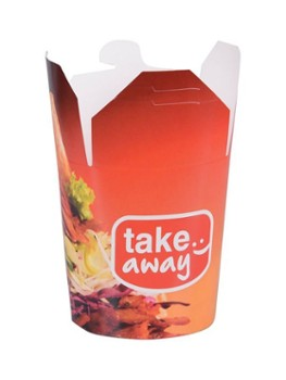 KEBAB BOX 750ml nadruk TAKE AWAY