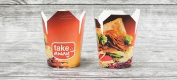KEBAB BOX 1000ml nadruk TAKE AWAY