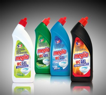 MEGLIO wc gel 5in1 750ml Disincrostante
