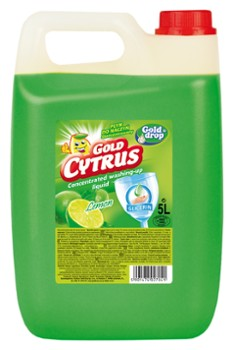 Gold Cytrus płyn do naczyń LEMON 5l