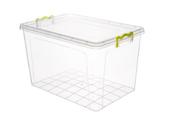 Pojemnik StrongBOX 55L transparent