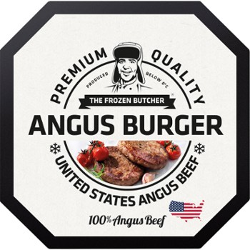 Angus beef burger USA