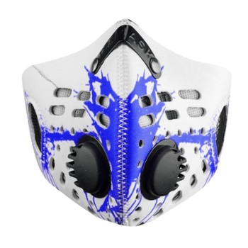 Maska RZ Mask M1 Splat Blue L/R