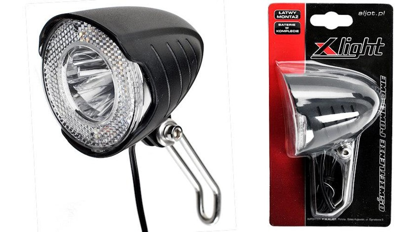 lampa przód x-light xc-110 1w 15lux
