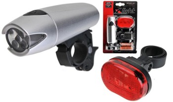 Zestaw lamp X-Light POLARIS XC8008 srebr