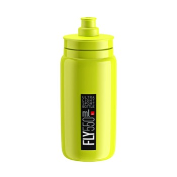Bidon Elite FLY żółty fluo 550ml 2020