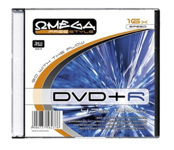 PŁYTA DVD+R 4,7GB 16X SLIM