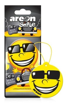 Zapach AREON DRY SMILE Black Crystal