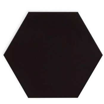CerArte Origami Hexagon Black 24,8×28,5