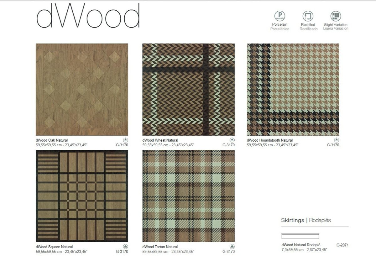 Aparici dWood Wheat 59,2x59,2