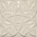 Deco Relieve Essentials Blanco 15x15