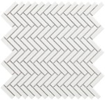 Mozaika Tech Chevron WhiteGloss28,3x27,7