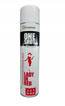 ONE SHOT 600ml LADY IN RED
