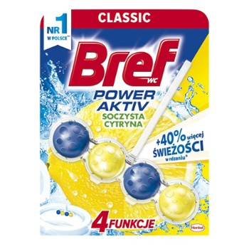 Bref 1x50 LEMON Power Activ do WC kulki