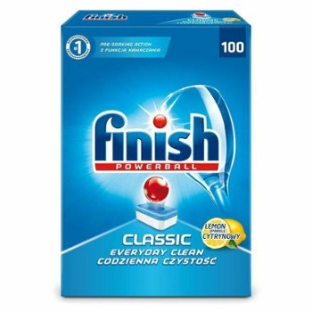 FINISH CLASSIC L.100szt tab. do zmywarek