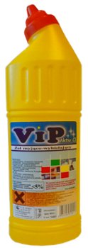 VIP ACTIV 750ml chlorowy żel do WC