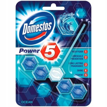 DOMESTOS WC Power 5 (1x55g) OCEAN