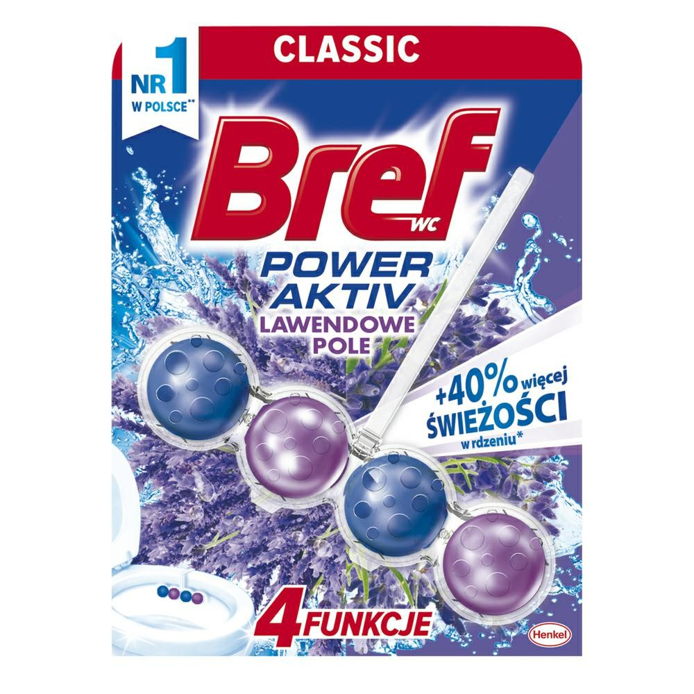 Bref 1x50 LAVENDER Power Activ do WC kul