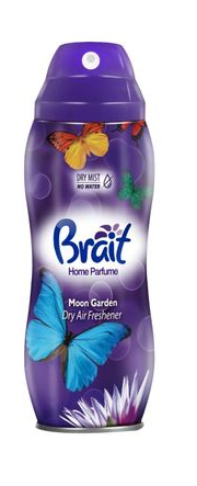 BRAIT 300ml aerozol Dry Mist Moon Garden