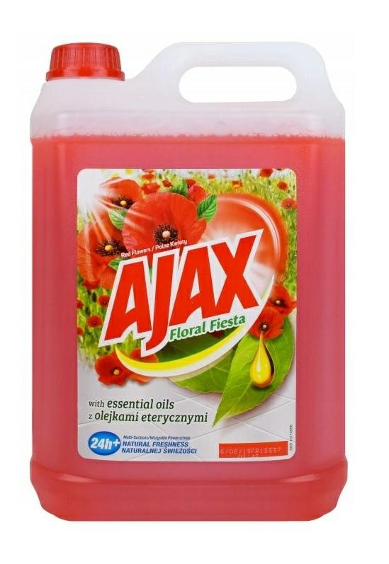 AJAX 5L POLNE KWIATY (Red Flowers)