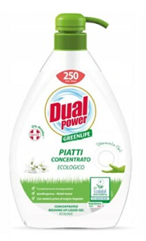 DUAL POWER Eco 1L żel do naczyń pompka