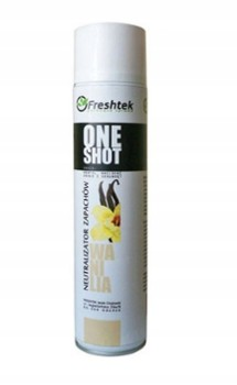 ONE SHOT 600ml WANILIA
