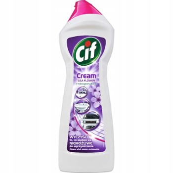 CIF 780ml LILA FLOWERS mleczko