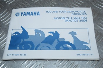 Książka manual Riding Tips YAMAHA