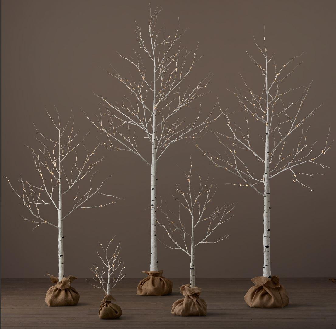 Drzewo Brzoza 180 Cm 108 Led Dekorstar