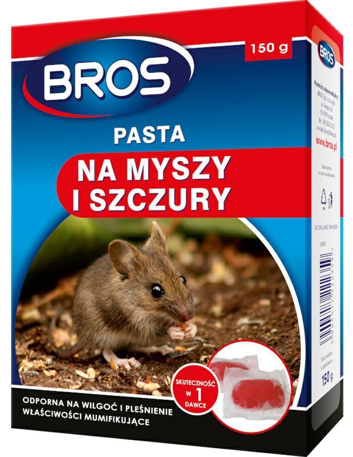 BROS - pasta na myszy i szczury 150g - Dekorstar