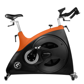 Rower Spiningowy Connect 99190002 Body Bike Orange Techno