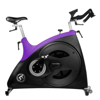 Rower Spiningowy Connect 99190010 Body Bike Purple
