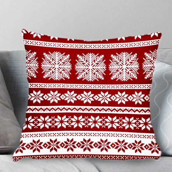 Poszewka świąteczna 40x40 na poduszkę jasiek