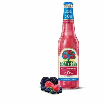 Piwo Somersby 0,0% wild berries but.0,4l