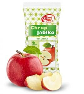 Chrup Jabłko chipsy 18g CHRIPSY NATURAL