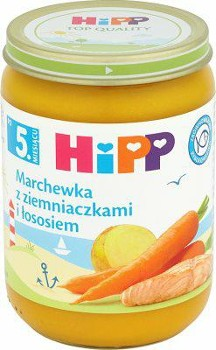 HIPP march/ziem/łosoś po 5m-cu 190g