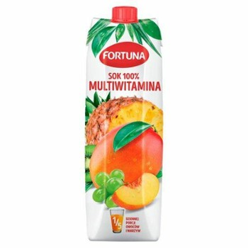 Sok multiwitamina 100% 1l FORTUNA